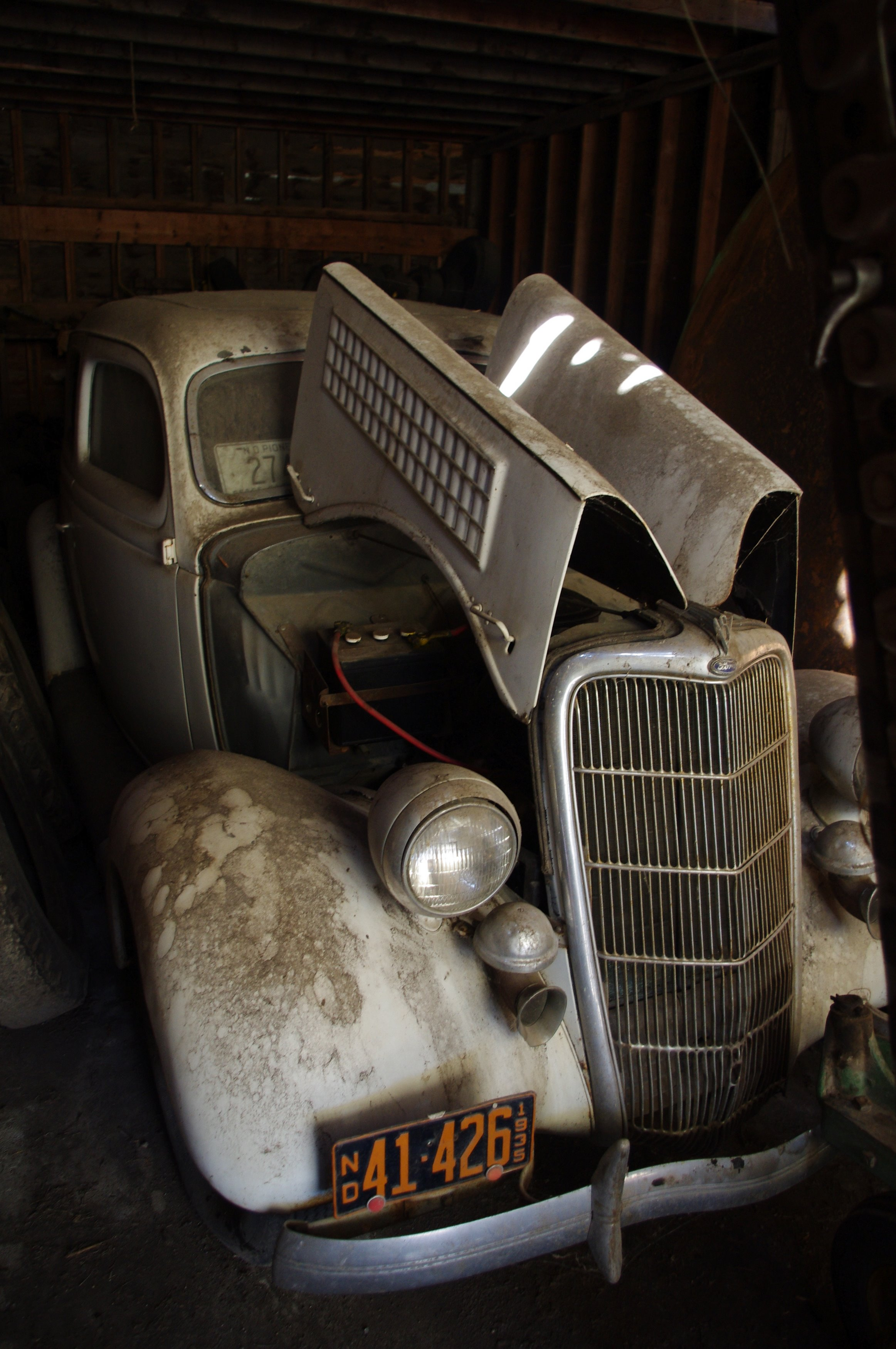 Barn Find 1935 Ford