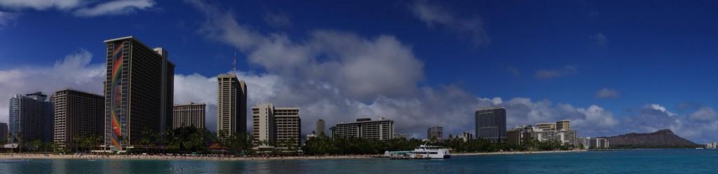 Waikiki Beach Panorama 3