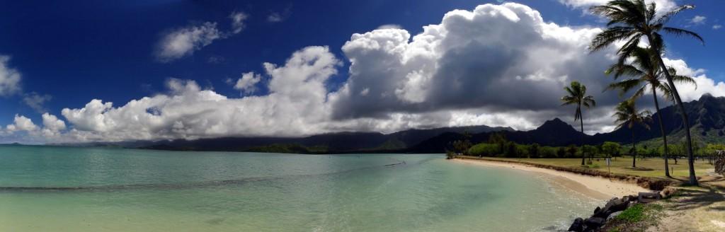 Beach Panorama Oahu