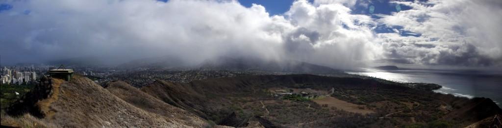 Diamond Head Hawaii Panorama 2