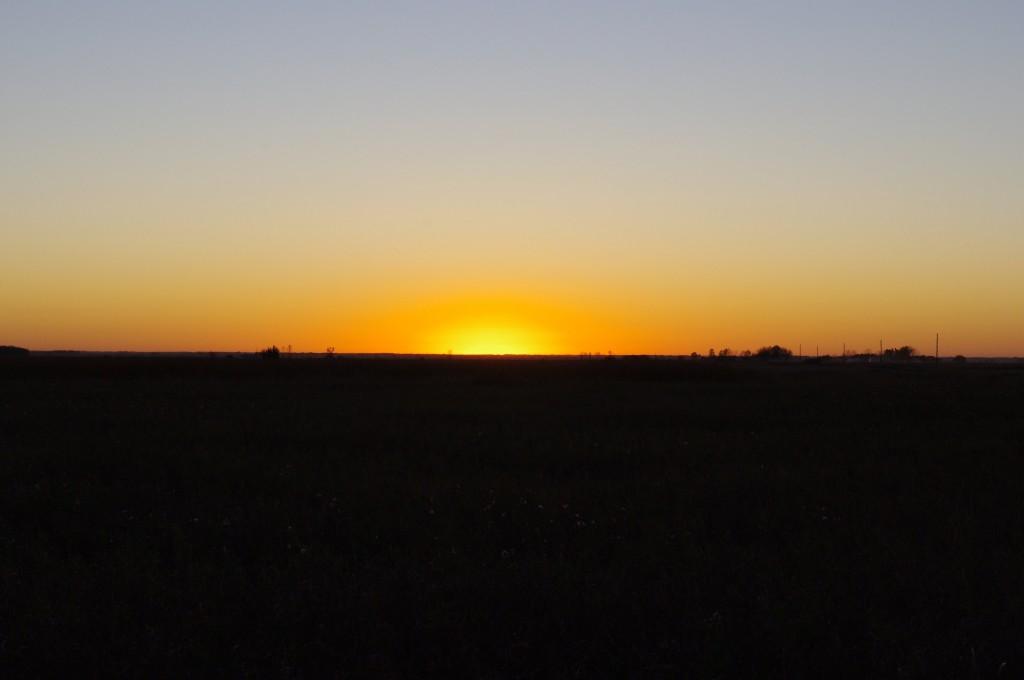 Just Missed It (North Dakota Sunset)