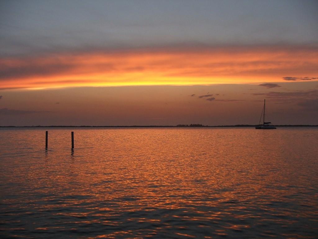 Sunset @ Tabaco Caye