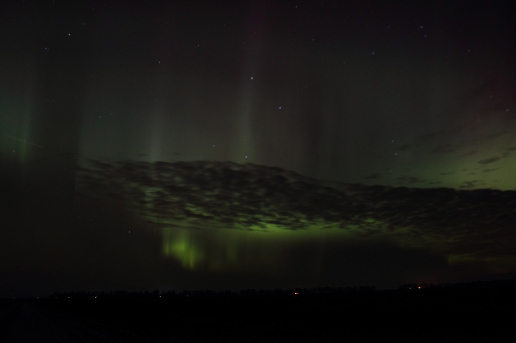 Aurora Dancing Over Minnesota