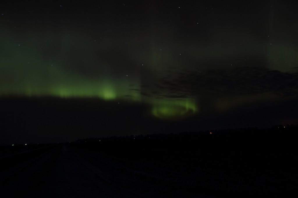 Aurora Spiral Minnesota