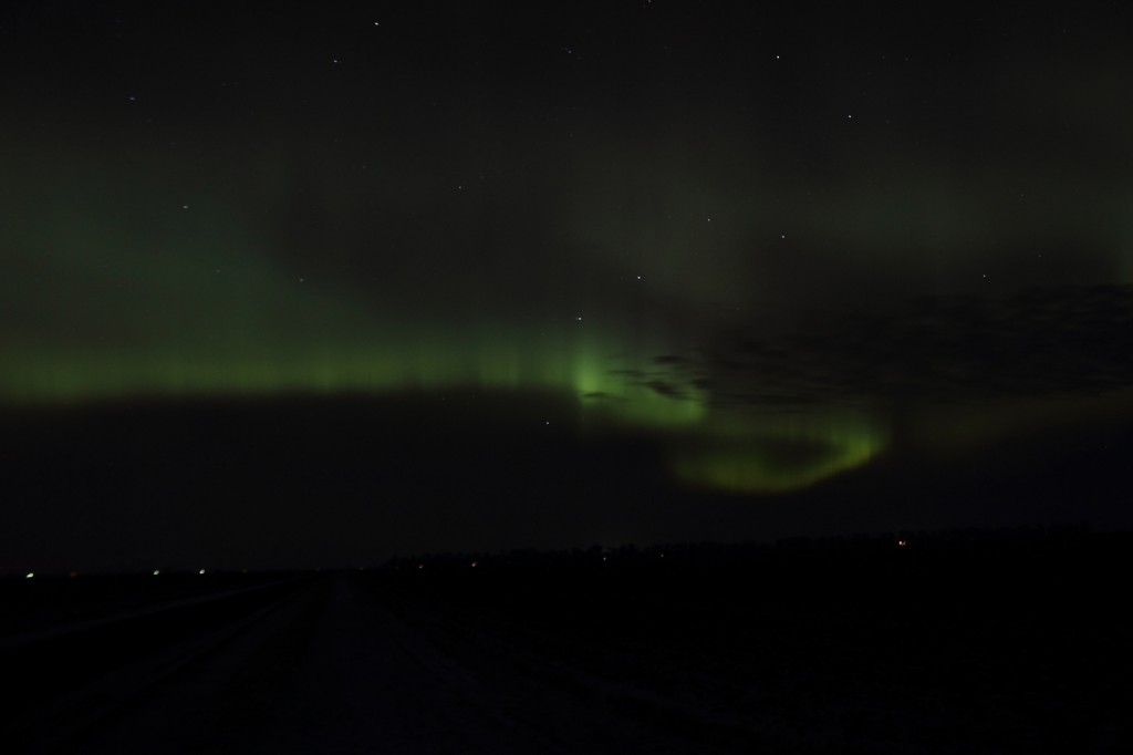 Bright Aurora Minnesota