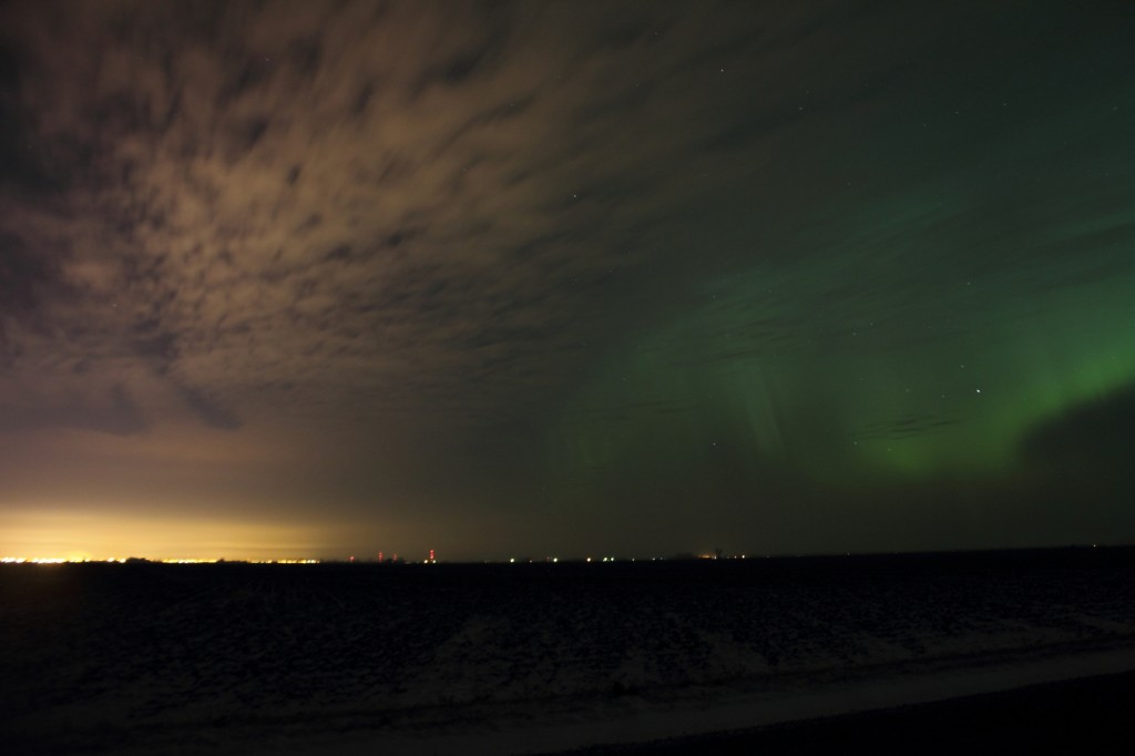 Aurora Over Grand Forks